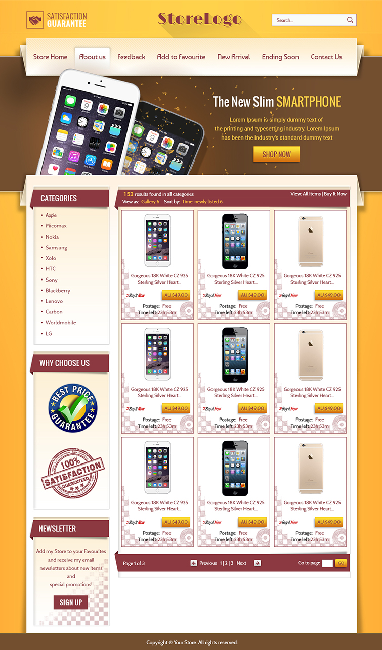free ebay templates html download - ebay shop design and listing auction html templates for